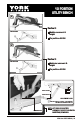 York Fitness 13 IN 1 BENCH Instructions manual - Page 5